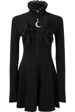 Claire Voyant Collar Dress