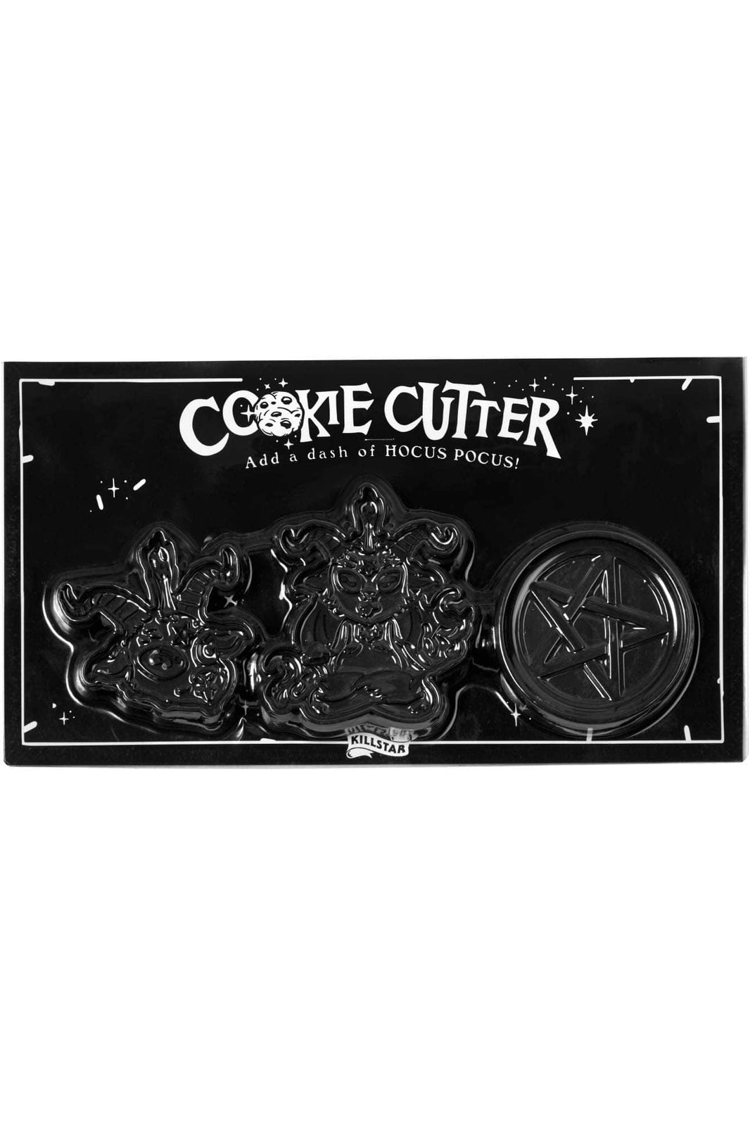 Black Magic Cookie Cutters