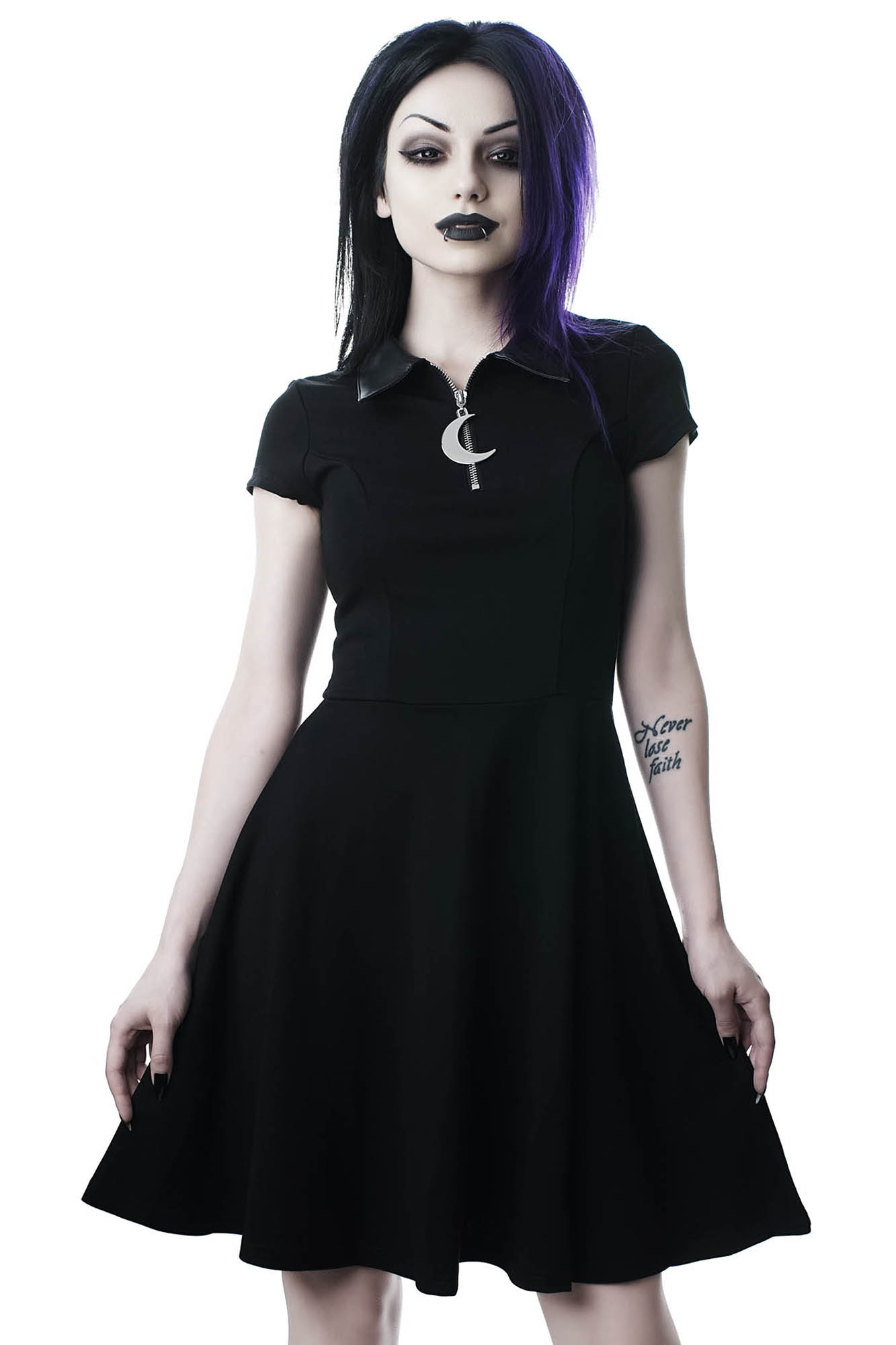 a642f6abdf02 Coven Cutie Skater Dress. Double tap to zoom
