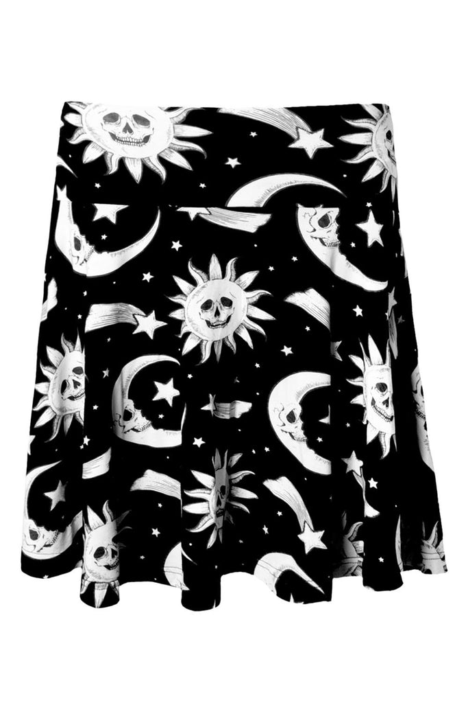 Cozmic Death Skater Skirt [B]