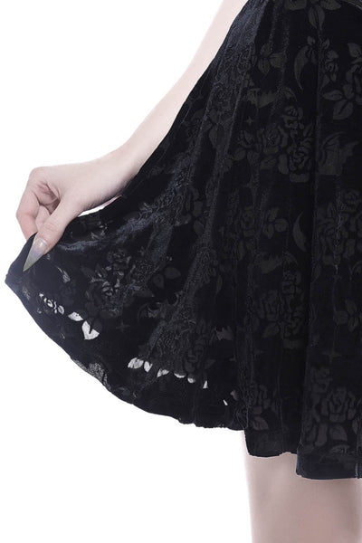 Crescent Nights Skater Skirt