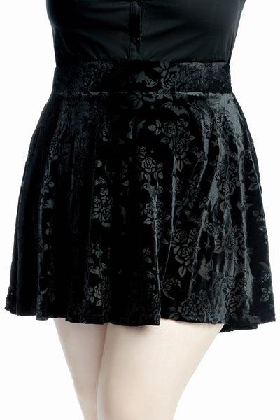 Crescent Nights Skater Skirt [PLUS]