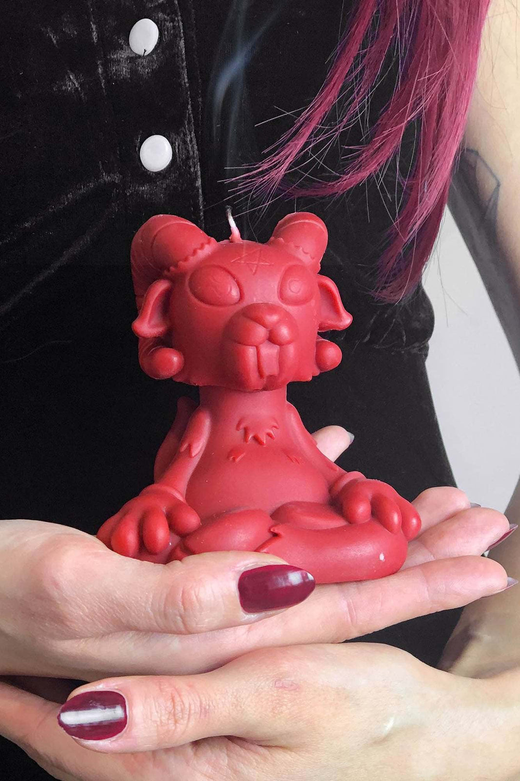 Cute'N'Evil Wax Candle [RED]