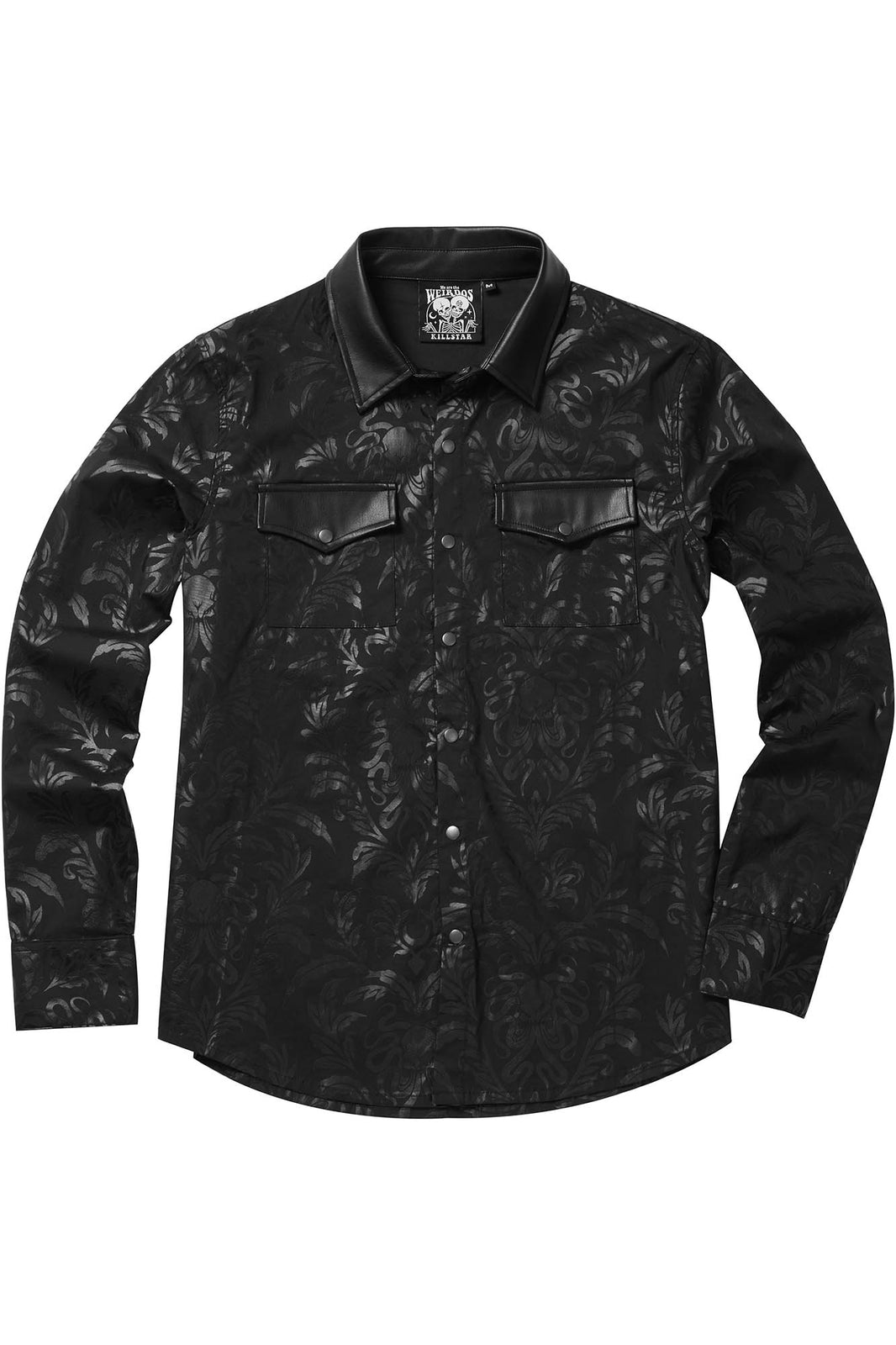 Dark Ocean Button-Up Shirt