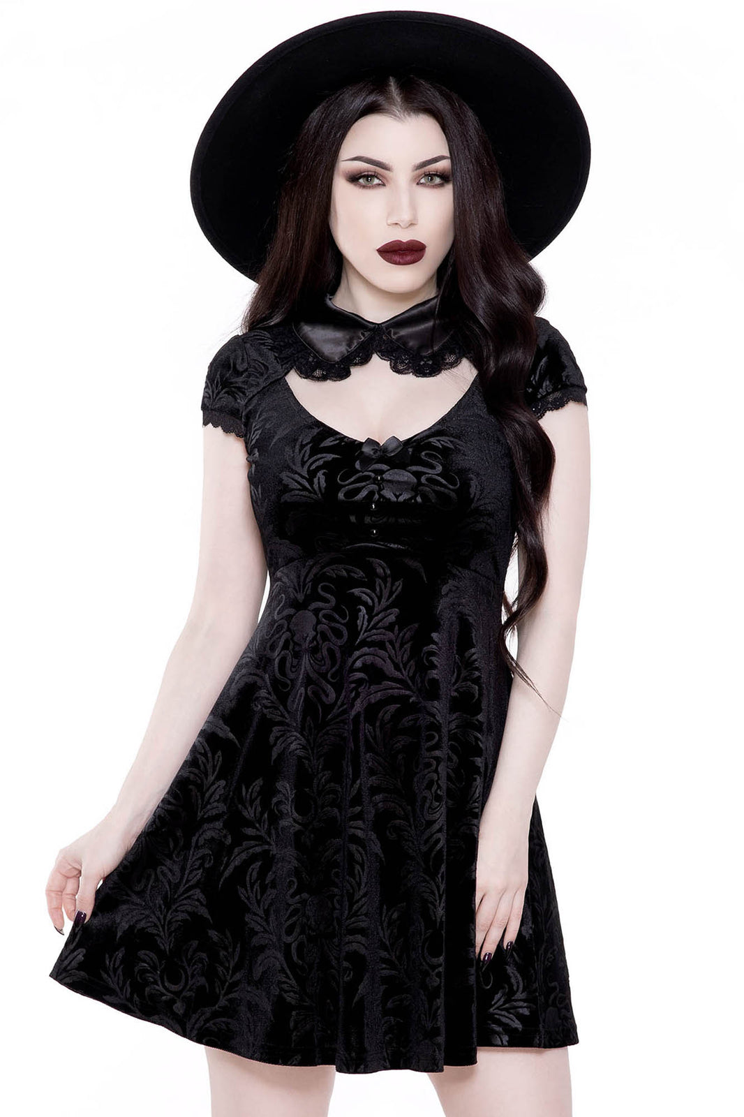 Darkla Skater Dress