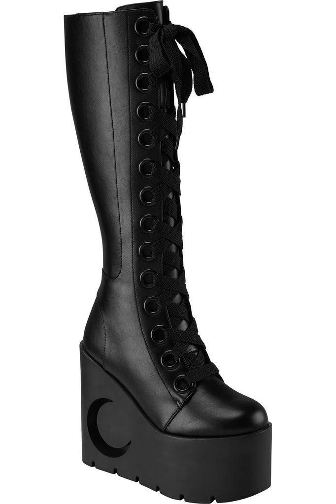 Dawn Wedge Boots