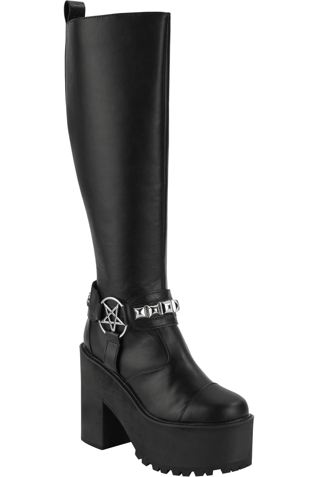 De Hex Knee-High Boots