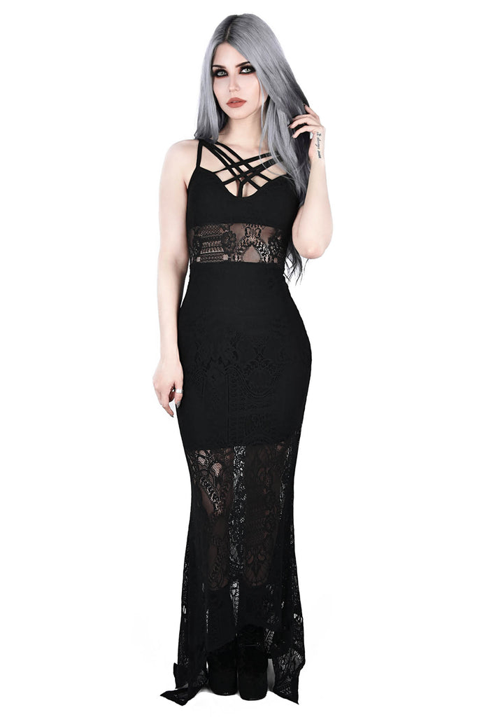 Deadly Beloved Maxi Dress [B]