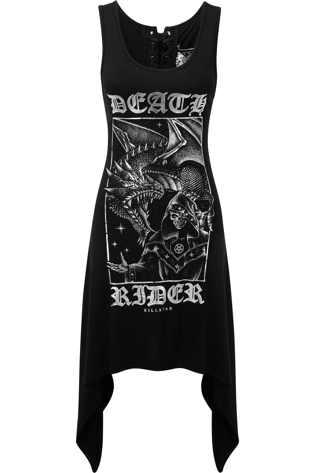 Death Rider Lace Up Tunic