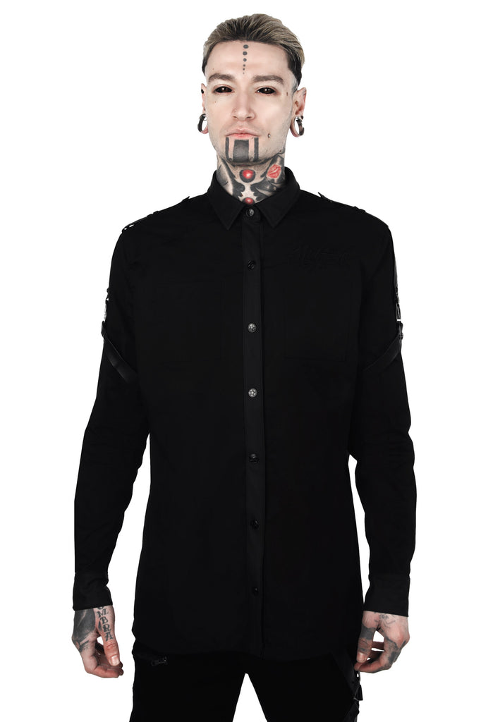 Death Wish Button-Up Shirt [B]
