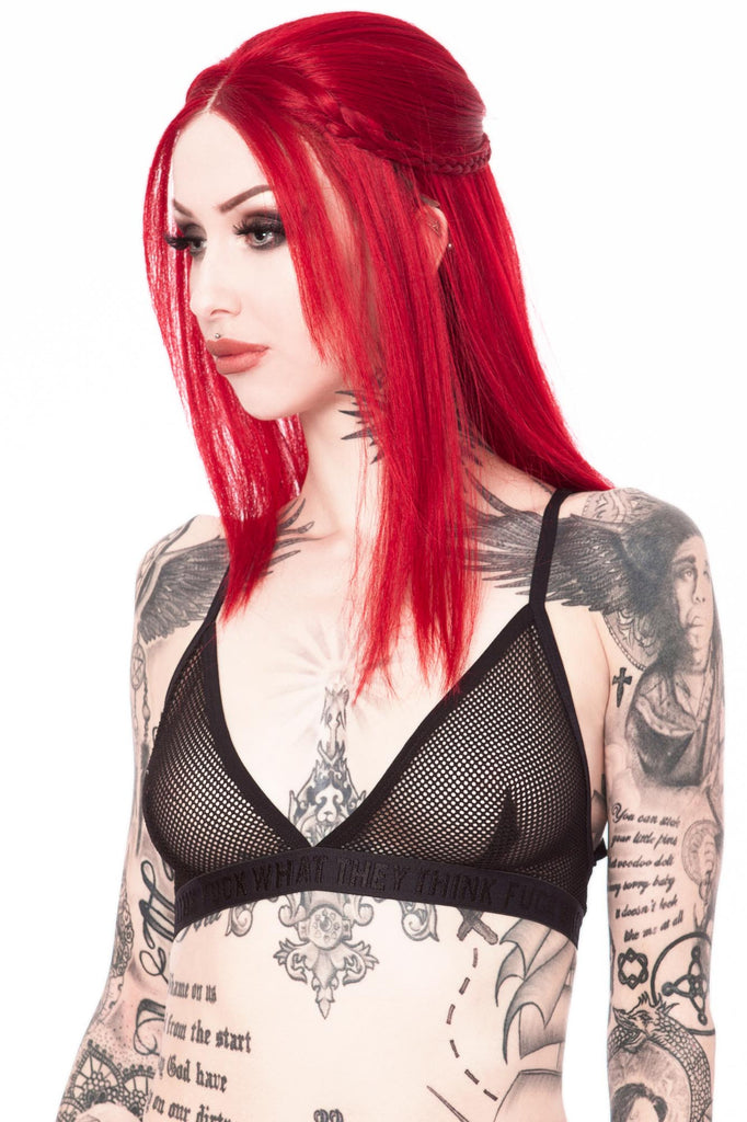 Demonica Fishnet Bralet [B]