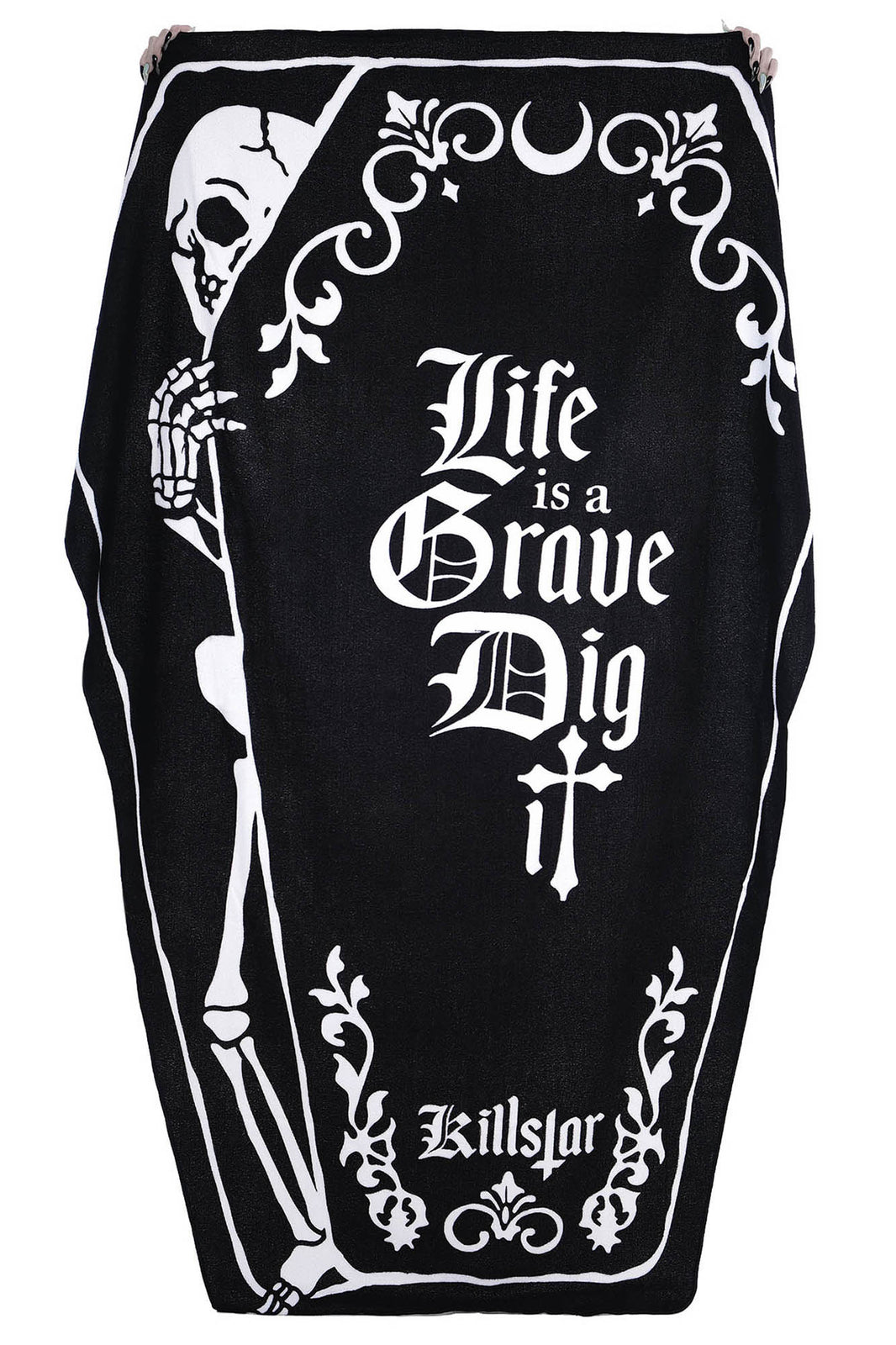 Dig It Coffin Towel