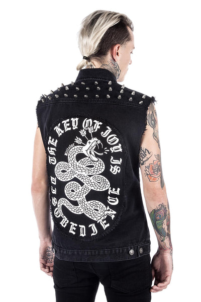 Disobedience Cut-Off Vest [B]