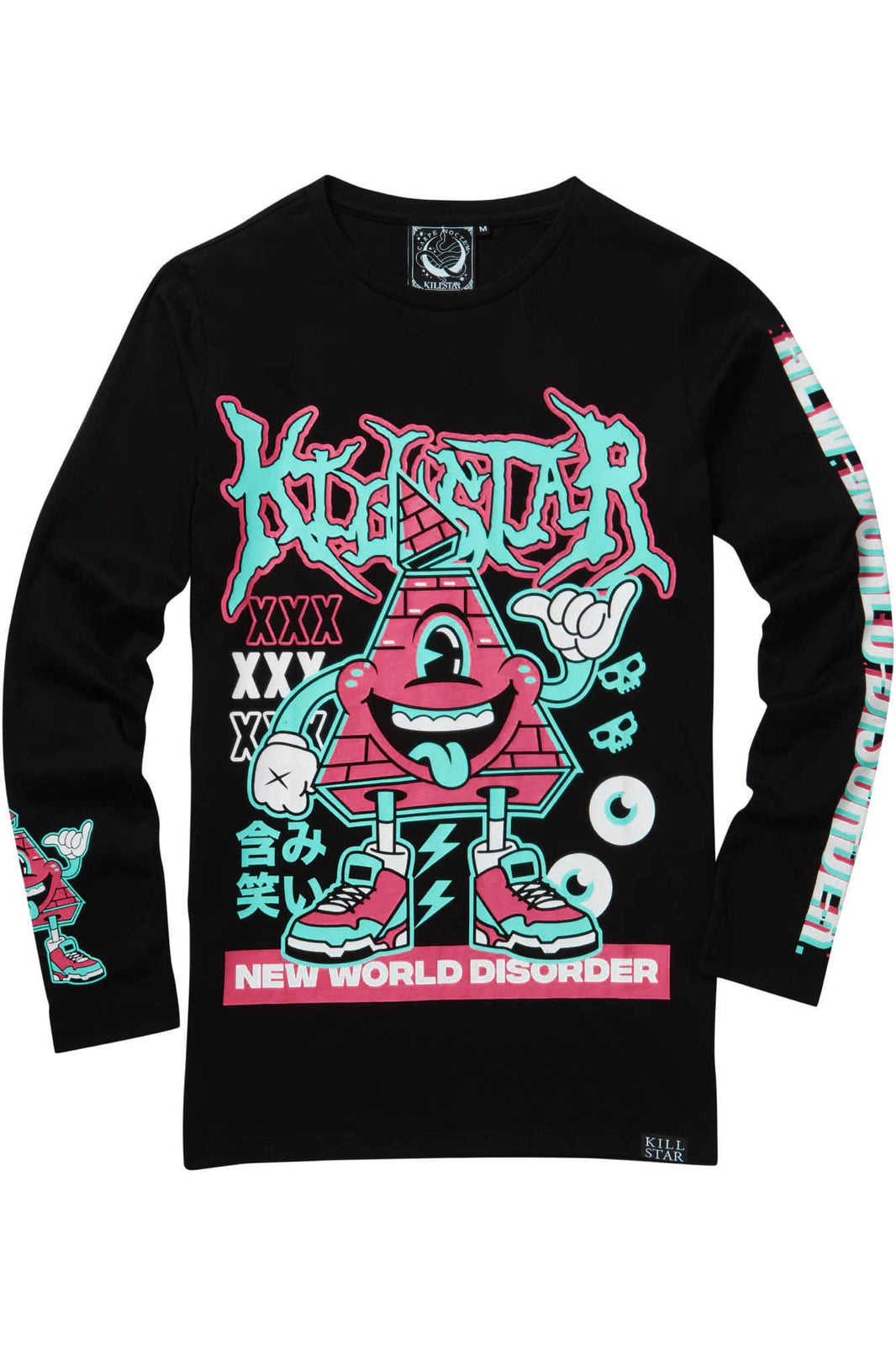 Disorder Long Sleeve Top