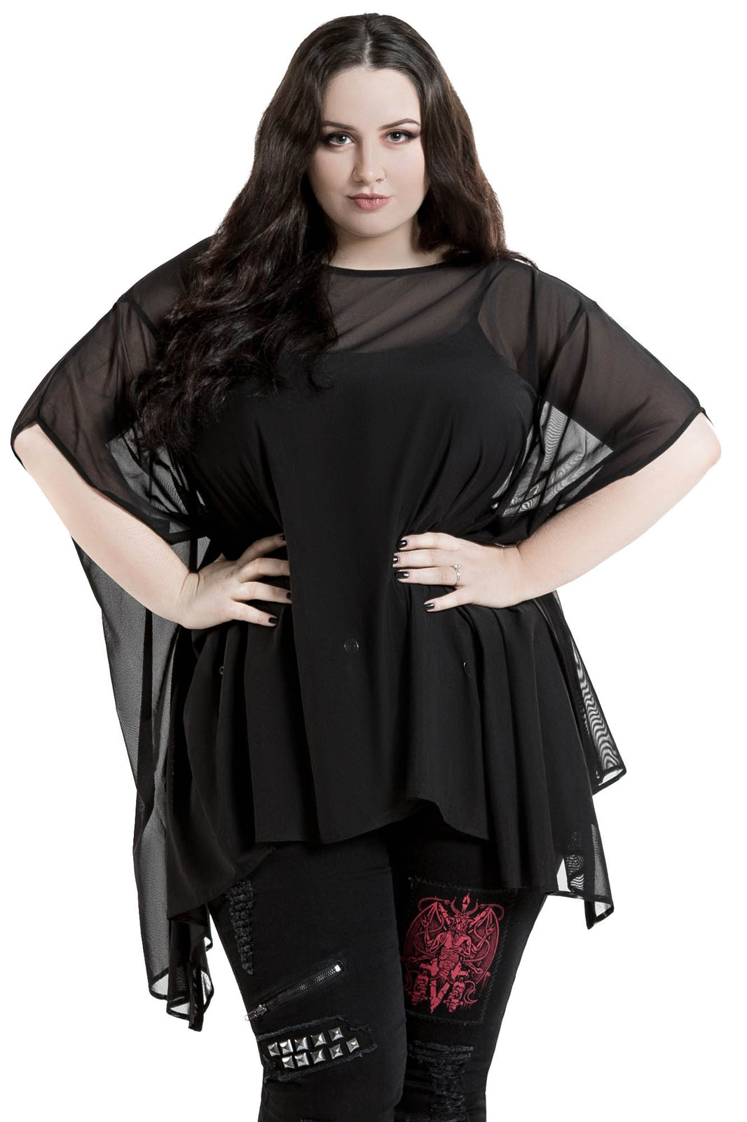 Dominia Mesh Tunic [PLUS]