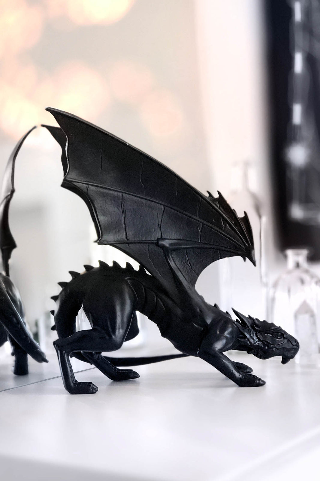 Draco Resin Statue