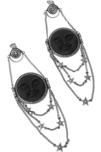 Dreaming Moon Earrings [S]