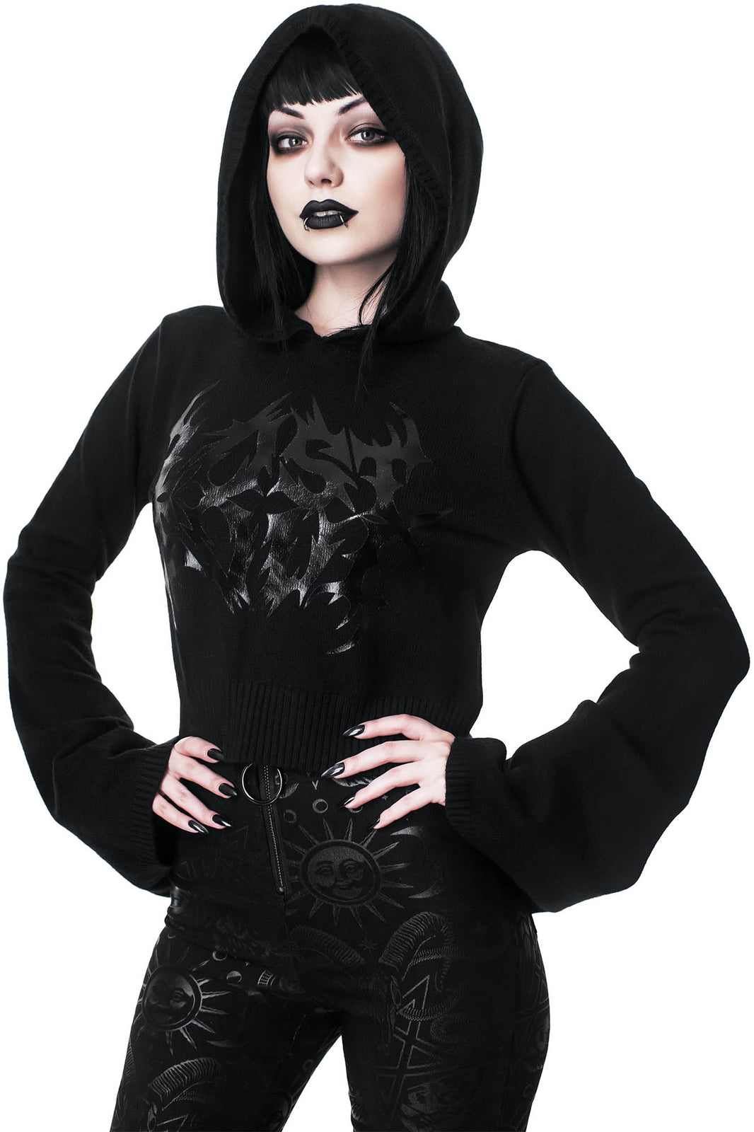 Entombed Hood Sweater