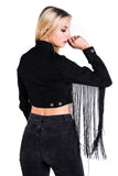Fae Fringe Denim Jacket [B]
