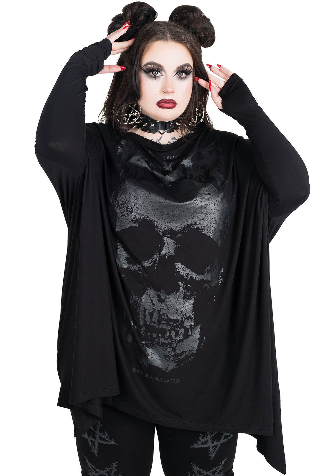 Fearless Long Sleeve Tunic [PLUS]