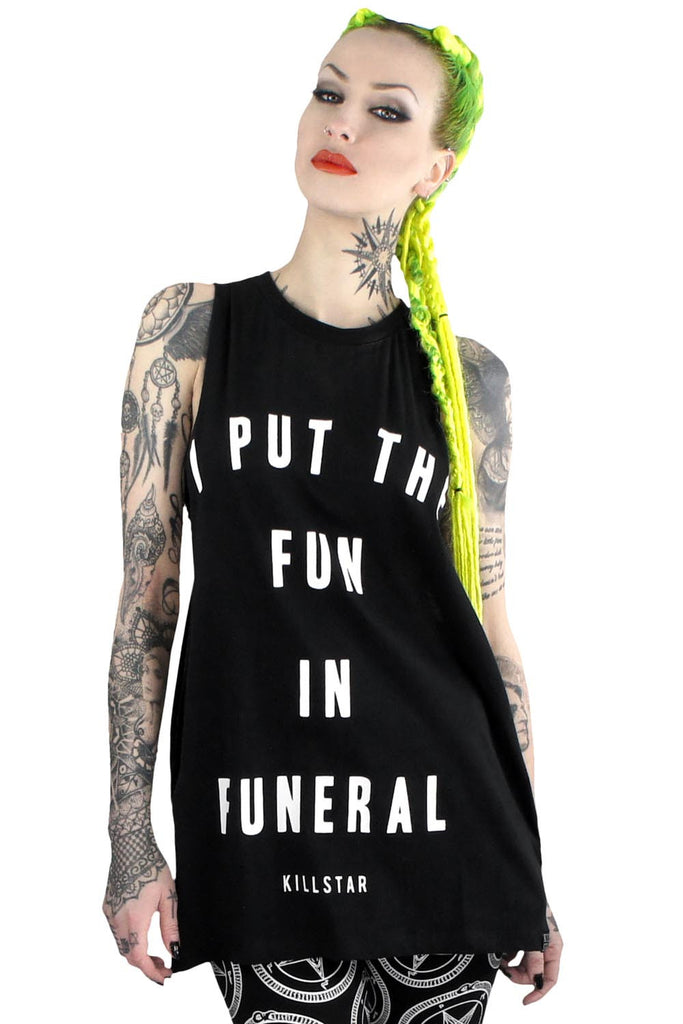 Funeral Muscle Tank [B]