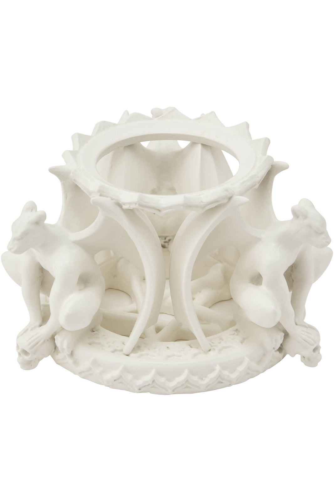 Gate Keeper Crystal Ball Stand [BONE]