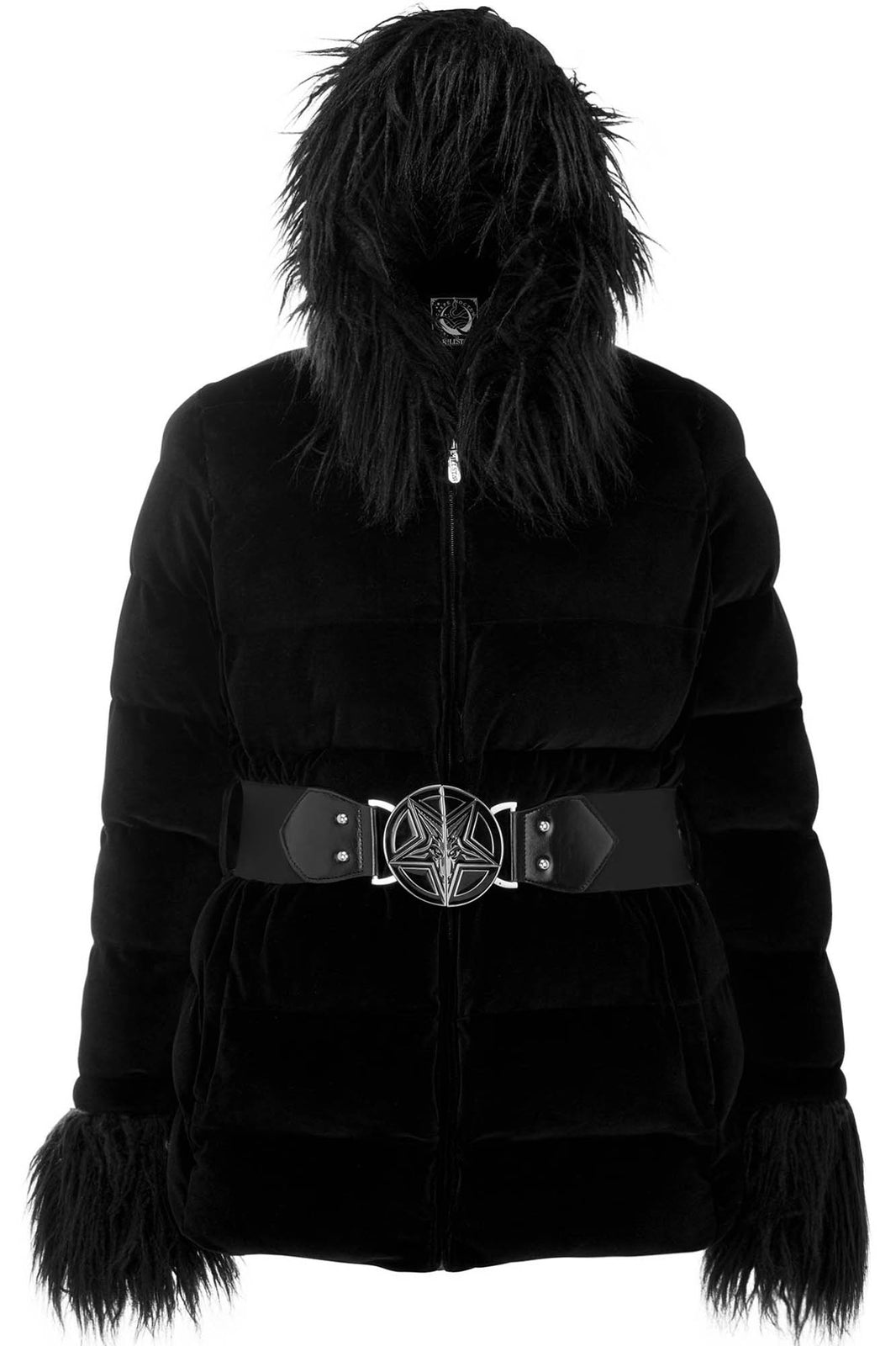Gates Of Hell Hooded Coat [PLUS]