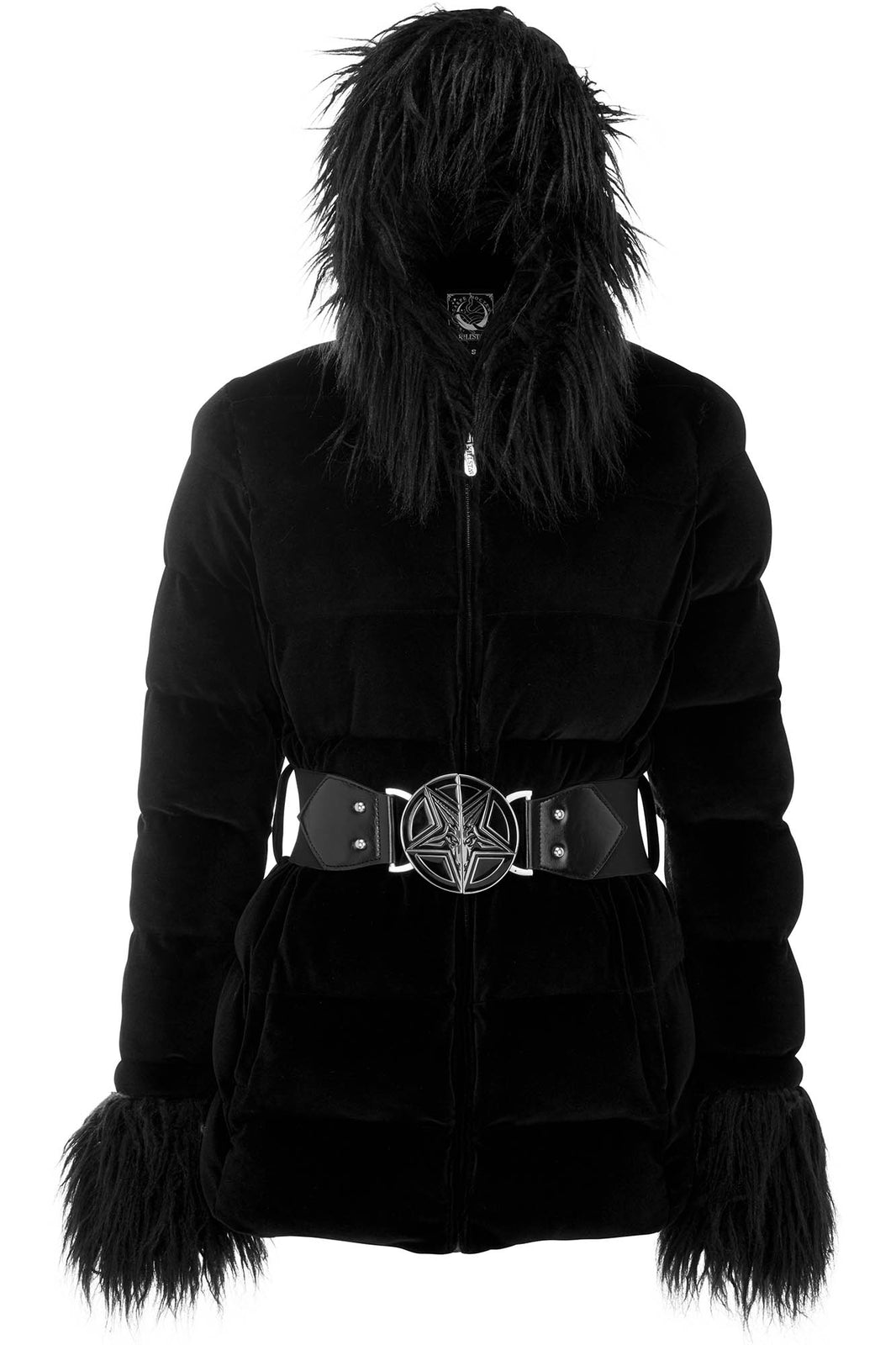 Gates Of Hell Hooded Coat