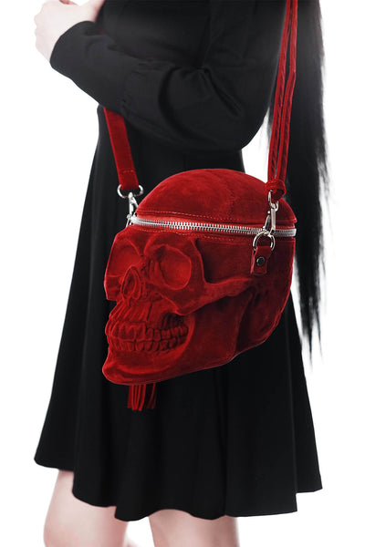 Grave Digger Skull Handbag [BLOOD]