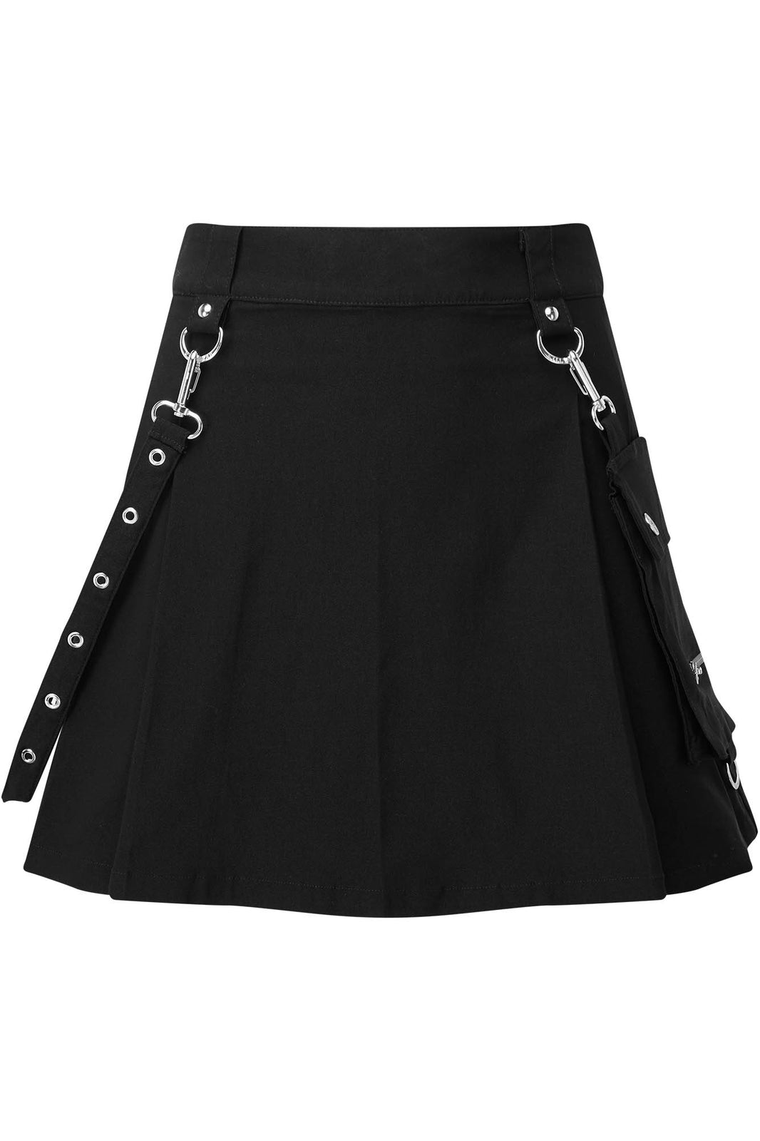 Gunner Pleated Skirt