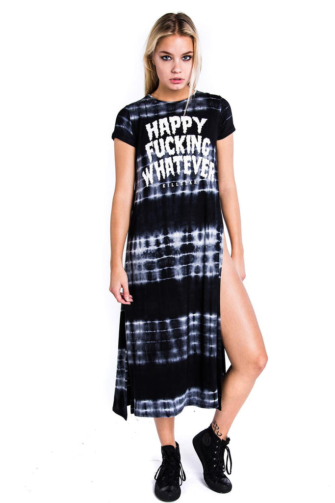 Happy Split Dress [B]