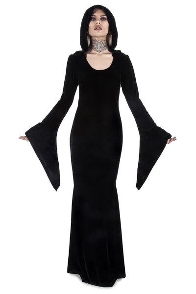 Hemlock Hooded Maxi Dress [B]