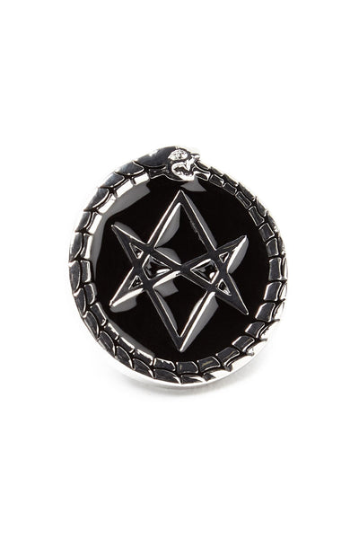 Hexagram Enamel Pin [B]