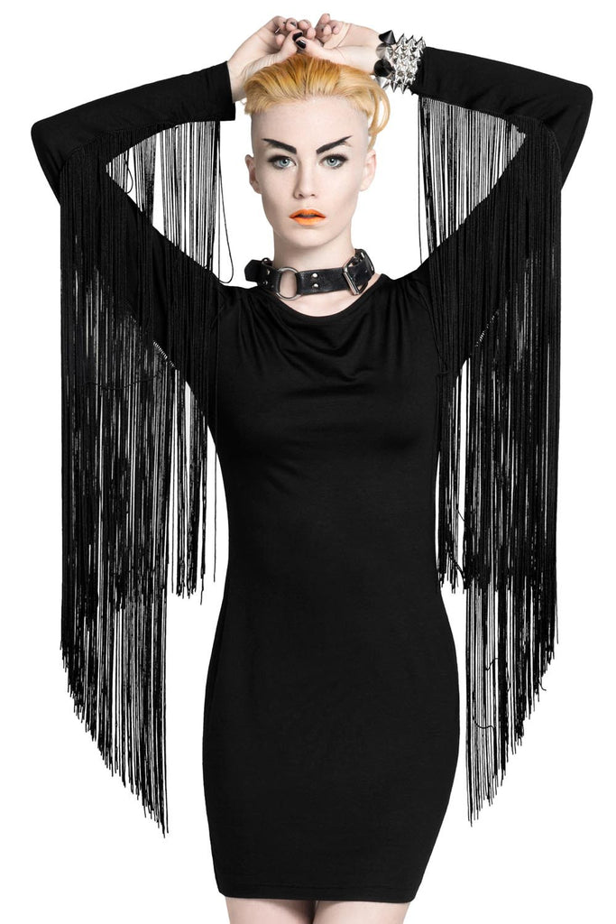 Huntress Fringe Dress [B]