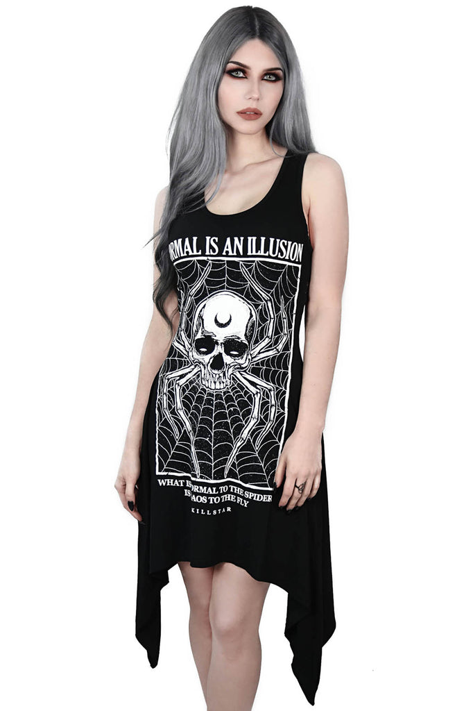 Illusion Laced-Up Tunic