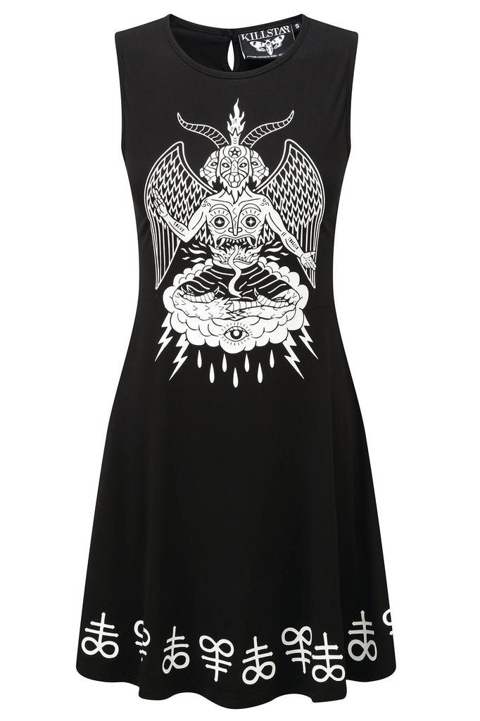 In Like Sin Skater Dress [B]