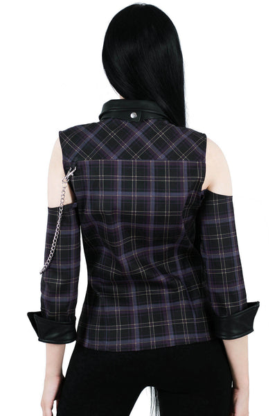 Kalista Teachers Pet Shirt [TARTAN]