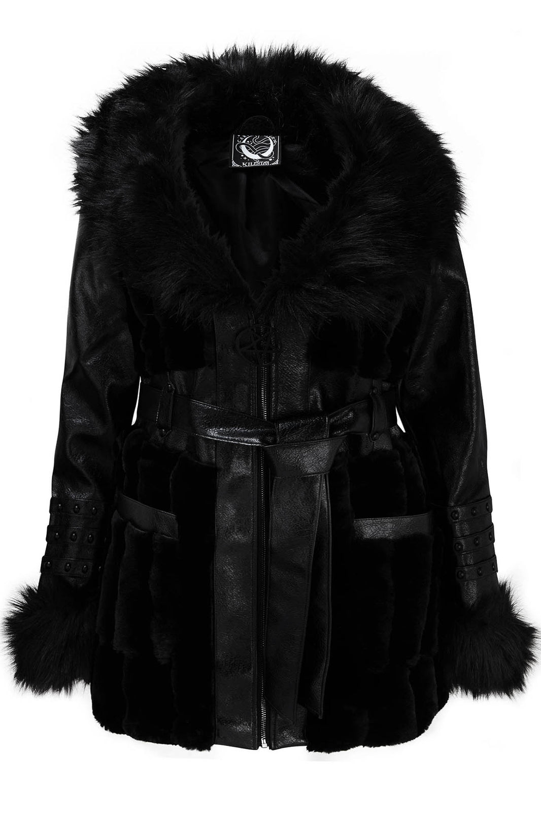 Krystina Faux-Fur Coat [PLUS]
