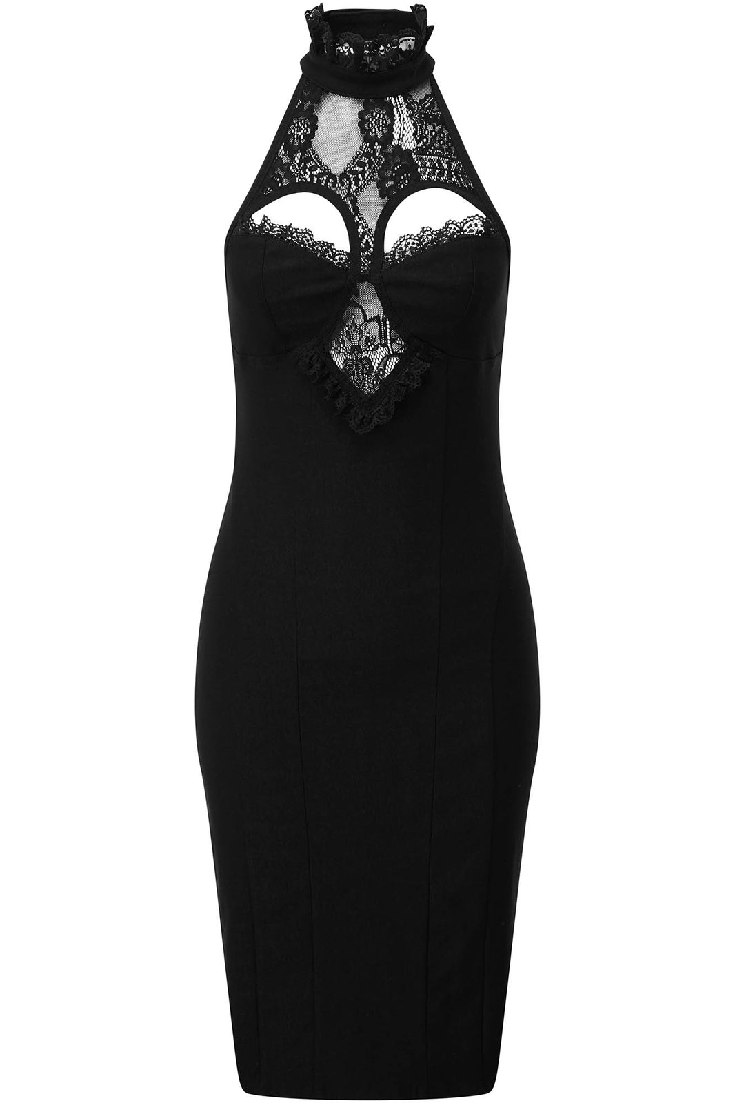 Lavina Halter Dress