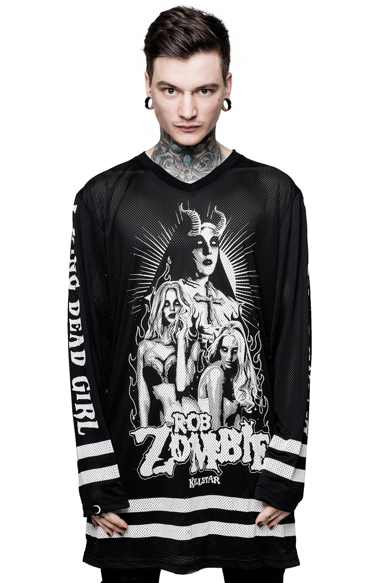 Living Dead Girl Hockey Jersey. Double tap to zoom 2ac74412d