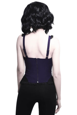 Lydia Harness Top [PLUM]