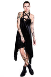 Magi Velvet Racerback Dress [B]