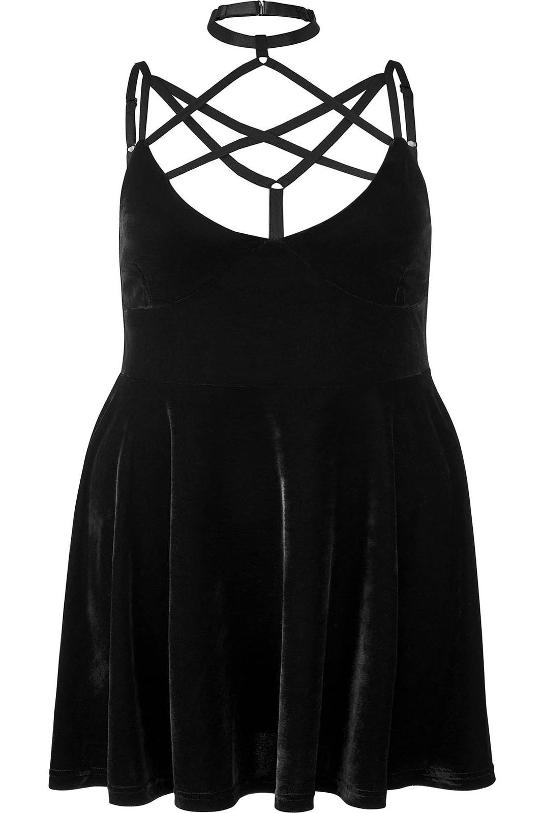 Magica Skater Dress [PLUS]