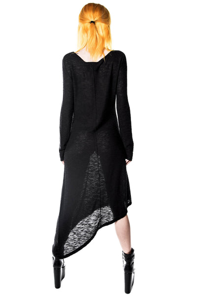 Merciless Asymmetrical Knit Dress [B]