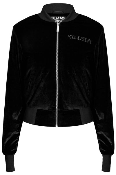 Midnight Velvet Bomber Jacket [B]