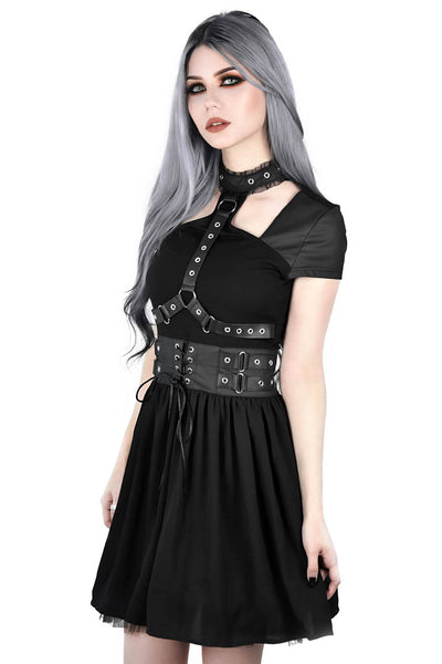 Midnight Muse Harness Dress [B]