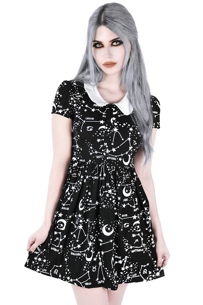 Milky Way Babydoll Dress