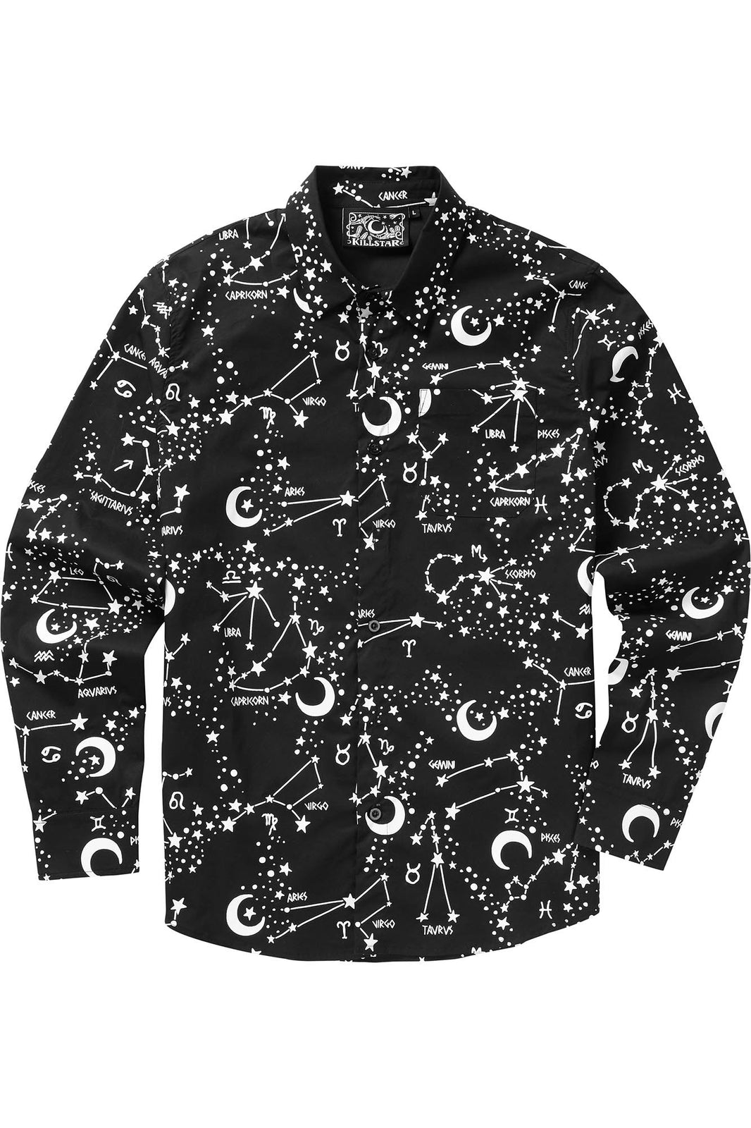 Milky Way Button-Up Shirt
