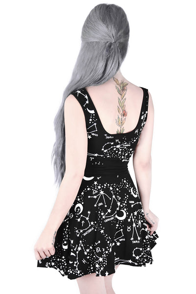 Milky Way Skater Dress