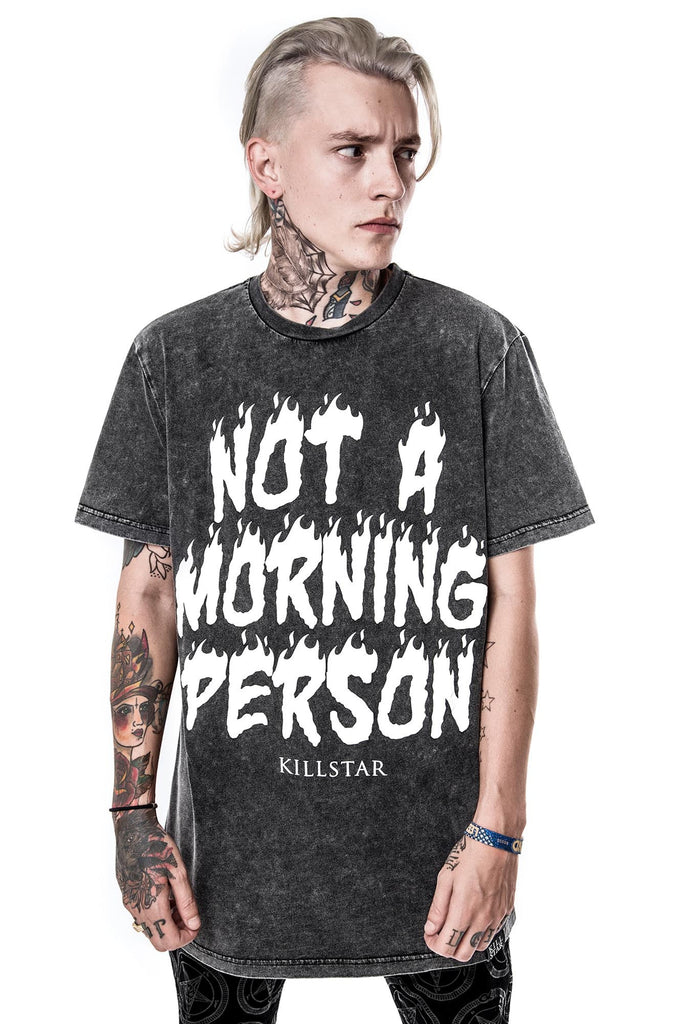 Morning Person T-Shirt [ENZYME]